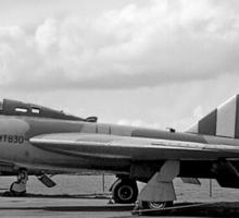 Gloster Javelin 4th prototype WT830 Sticker