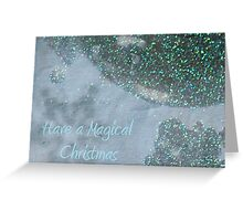 Magical Christmas - JUSTART ©  Greeting Card