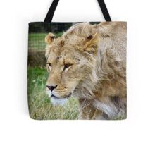 Teenage Lion Tote Bag