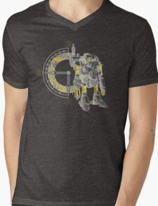 Chrono Robo Mens V-Neck T-Shirt
