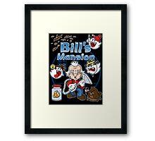 Bill's Mansion Framed Print