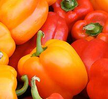 pepper love by James Edward Olson