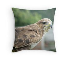 Eagle-eyed Throw Pillow