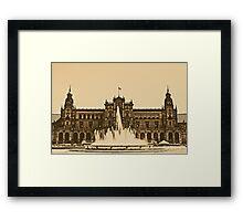 Plaza de Espana - Sevilla Framed Print