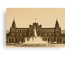 Plaza de Espana - Sevilla Canvas Print