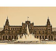 Plaza de Espana - Sevilla Photographic Print