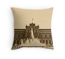 Plaza de Espana - Sevilla Throw Pillow