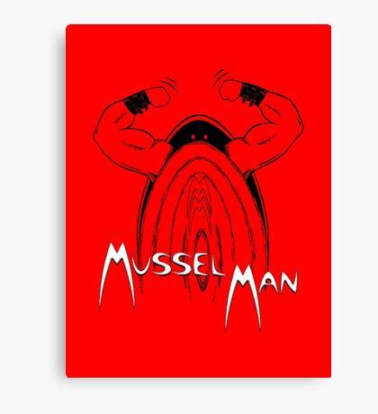 Mussel Man Canvas Print