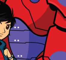 Hiro and Baymax Sticker