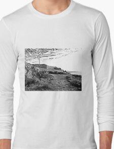 Island Caprera: military archeology and acacia Long Sleeve T-Shirt