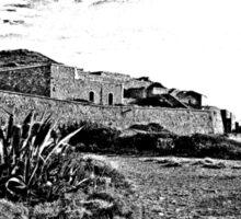 Island Caprera: military archeology and acacia Sticker