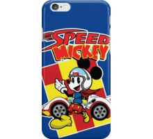 Go Speed Mickey GO! iPhone Case/Skin