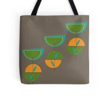 Retro Tulip Tote Bag