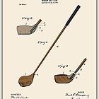 Golf Club Patent - Colour by FinlayMcNevin