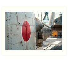 Japanese Navy Helicopter Art Print