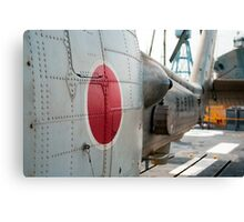 Japanese Navy Helicopter Canvas Print