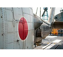 Japanese Navy Helicopter Photographic Print