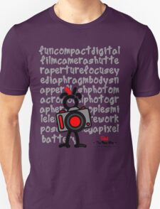 Red - The New Guy - funcompactdigitalcamera .. Unisex T-Shirt