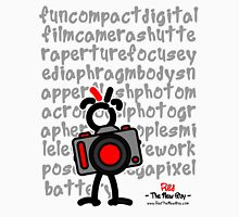 Red - The New Guy - funcompactdigitalcamera .. Unisex T-Shirt