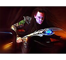 Loki - Burdened with Glorious Purpose V Photographic Print