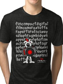 Red - The New Guy - funcompactdigitalcamera .. Tri-blend T-Shirt