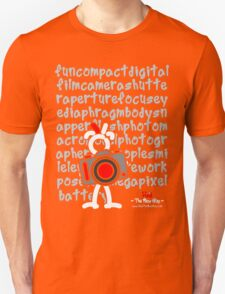 Red - The New Guy - funcompactdigitalcamera .. T-Shirt