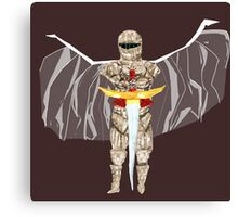 The Winged knight Canvas Print
