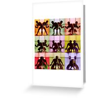 Body Language 29 Greeting Card