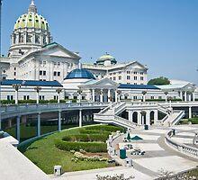 Harrisburg Capital Building by ericseyes