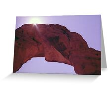Delicate Arch Abstract Greeting Card