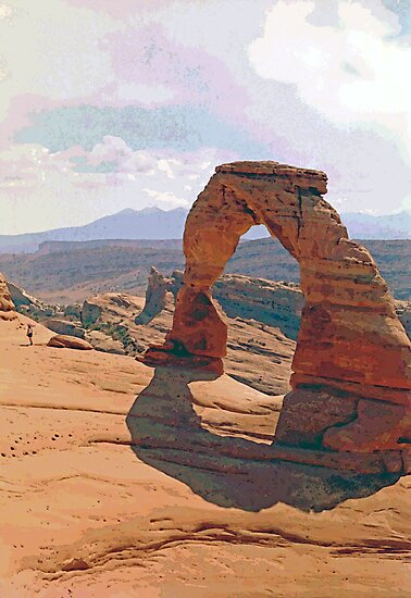 Delicate Arch (3) by SteveOhlsen