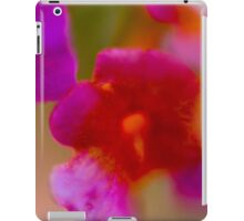 defocused Abstract flower close up iPad Case/Skin