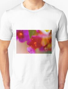 defocused Abstract flower close up Unisex T-Shirt