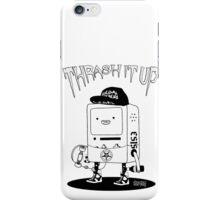 ThrashMO black and white iPhone Case/Skin