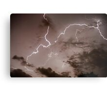 Lightning bolt during a lightning storm  Metal Print