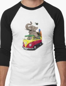 Pack the Trunk (wordless) Men's Baseball ¾ T-Shirt