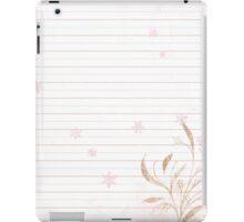 Tender Notes iPad Case/Skin
