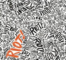 Paramore - Riot! by a-d-n