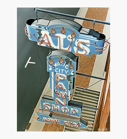 Al's Pawn Shop Photographic Print