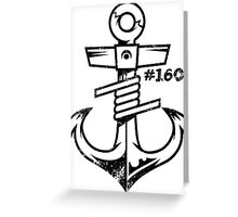 Coil & Anchor Greeting Card