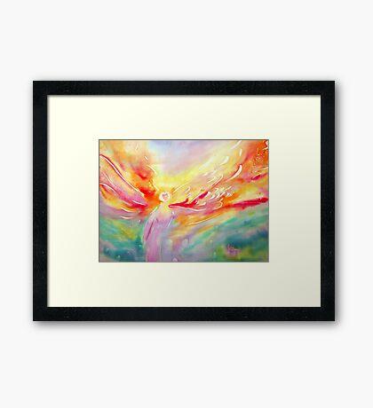 Angel. Softly Gently Framed Print