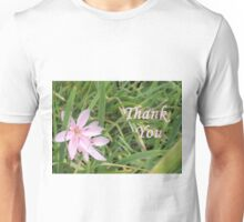 Pink Flower Thank You T-Shirt