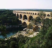 Pont Du Gard by Sam  Athey