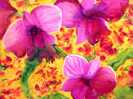 Cooktown Orchid by Lorna Gerard
