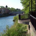 Riverwalk Impression by Michelle BarlondSmith
