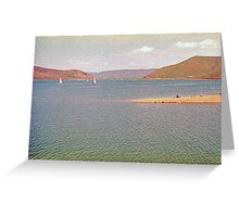 Painterly Lake (4) Greeting Card