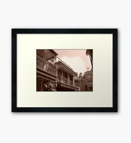 Old Places 2 Framed Print