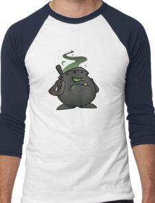 Dingpot Men's Baseball ¾ T-Shirt