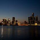 Detroit Skyline by MrNK4rd