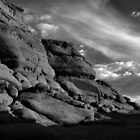 ROCKY CLIFF- KODACHROME BASIN by dgcheney